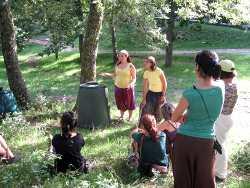 Actividades de educacion ambiental sobre compostaxe