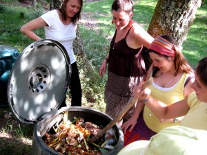 Composting in As Corcerizas