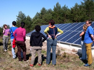 Photovoltaic modules in As Corcerizas